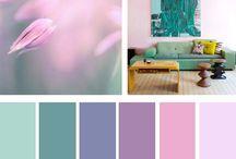 Barvy, které se k sobě hodí