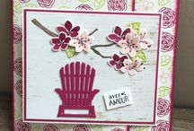 Stampin up colourful seasons card ideas