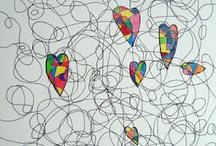 patronen tekenen / tekenles voor kids