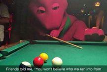 Billiard Funnies