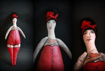 Hand Made Girls and Boys by Ircsi Sufni / Hand Made Dolls