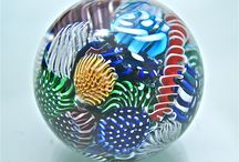 Michael Egan's Paperweight Works 2014 / Various images of the creation of my glass paperweights and of completed paperweights by Michael Egan in 2014 / by Michael Egan