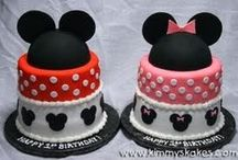 Geovannis 1st Birthday / Mickey Mouse / by Kayla Marie