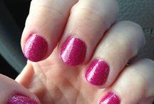 Shellac Nails & pedicure toes