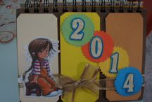 TARJETAS/SCRAPBOOK / Arte, creatividad, imaginación, papel, tijeras y mucha felicidad. Trabajos hechos con amor