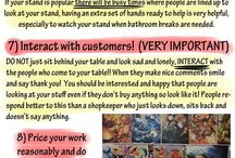 Artist Alley or Convention setup tips and tricks