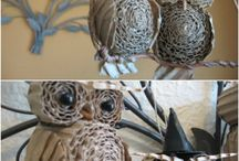 Corrugated cardboard craft