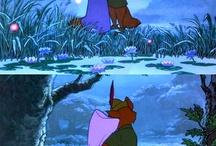 Disney Robin Hood, Robin Hood and Maid Marion