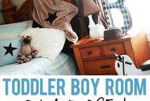 Waylons room / Toddler/cowboy