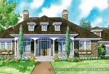 Country-Style Home Plans - The Sater Design Collection / Our Country-Style Home Plans welcome you onto large front porches and into open country kitchens. These country home plans bring traditional architectural details together with our signature 'casual elegance' in mind for a casual, yet stylish house plan that defines relaxed living.
