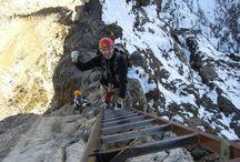 Die besten Klettersteige in den Alpen