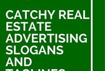 Real Estate taglines
