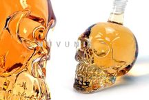 Crystal Skull Head Vodka Shot Glass Beer Bottle Drink
