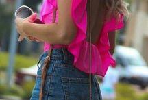 идеи для шитья. блузки