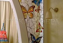 Stained and Painted Glass / I just love the vivid colors you get on glass..