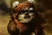 Things I Like: Star Wars / I love Star Wars... and ewoks!