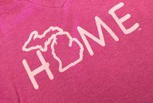 Women's Michigan T-Shirts