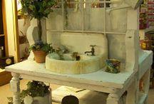 Záhradné umývadlá