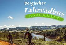 Outdoor im Bergischen Land / Das Bergische Land ist eine Rad- und Wanderregion.