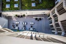 Une magnifique réalisation hôtelière en Suisse en lames TwinFinish / Une magnifique réalisation hôtelière en Suisse en lames TwinFinish