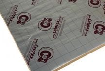 Celotex Insulation Sheets / Great deal of insulation to a house's walls, floors and soffits from Celotex.