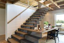 Escaleras /  Recogemos las nuevas tendencias en escaleras