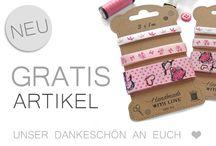 Gratis Artikel / Ein Dankeschön Geschenk für euch. :-) Ein Gratis-Artikel mit jeder Bestellung auf www.paillettenshop.de!