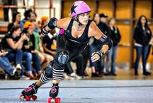 Tribute to Julie Brandt Glass, Pro Inline Skater / by Peg Corwin