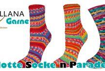 Sockenwolle / bei über 50 verschiedenen Sockenwollen, ist für jeden was dabei