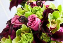 flowers for the Bride / bridal flowers / wedding arrangements
