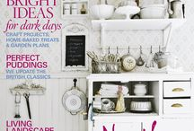 Country Living UK 2011 covers