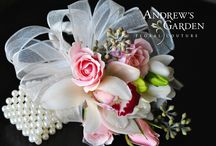 Corsages and Boutonnieres for Homecoming, Turnabout & School Dances by Andrew's Garden / Andrew's Garden specializes in event flowers - and school dances are no exception!