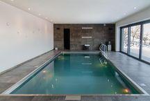 Schwimmbecken aus Edelstahl