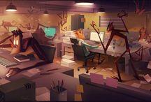2D Interiors