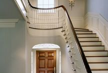 Entry Halls and Stairs