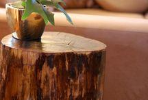 Drevo / Interier exterier napady