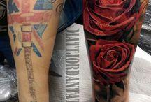 Cover tatoo Roses