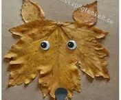 autumn crafting