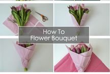WRAPPING FLOWER BOUQUET