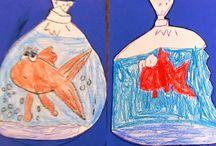 École: poisson d'avril