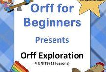K Orff Ideas