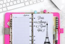 Planner/Caderno/Agenda / fotos escritas, caderno, agenda, planner