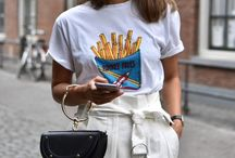 Summer oufits with white t-shirt