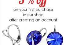 Sales and offers from our shops / Sales and offers on our sites at http://www.kom-bizuteria.pl/ and  http://pl.dawanda.com/my_shop