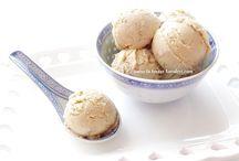 Tahinli & cevizli dondurma