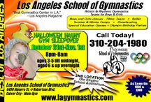2015 Upcoming Events! / Upcoming award-winning events and camps at LA's best gymnastics center!