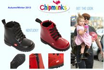 Chipmunks Children's Footwear / I would like to introduce you to our children's footwear brand Chipmunks!  We have a Collection of fun, fashionable and durable infants shoes which are specially made to look after those precious little feet.  Our exciting Autumn range showcases fun, colourful footwear including rainboots, waterproof snowboots and mini me classics like chelsea boots and hi-tops with RRP starting at £14.99  Please check out and 'Like' our Facbook page!   Chipmunks Footwear: facebook.com/Chipmunksfootwearuk