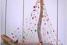 Arte com troncos
