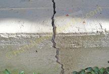Handyman how to concrete repair