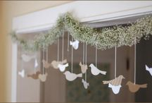 decorations & celebrations / Ideas for creating beautiful spaces / by ruthie redden